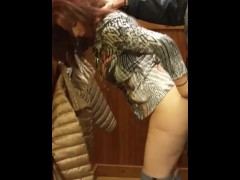 Amazing Milf Fucks in Changing Room